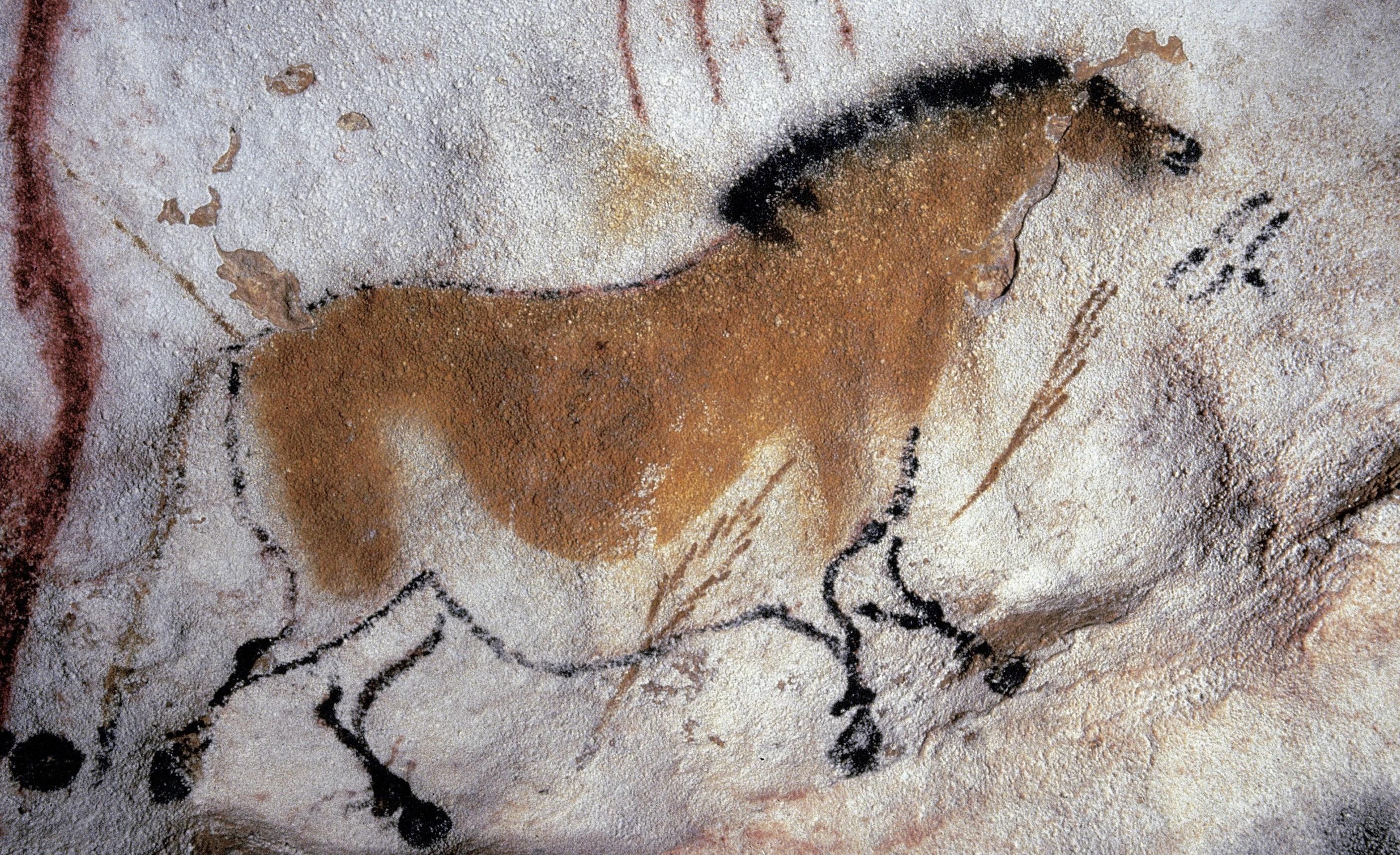 I giorni e le notti la preistoria narrata dai bambini for Immagini di murales e graffiti
