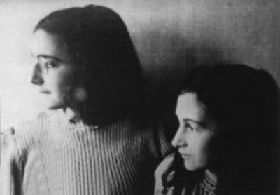 Anna Frank e la sorella