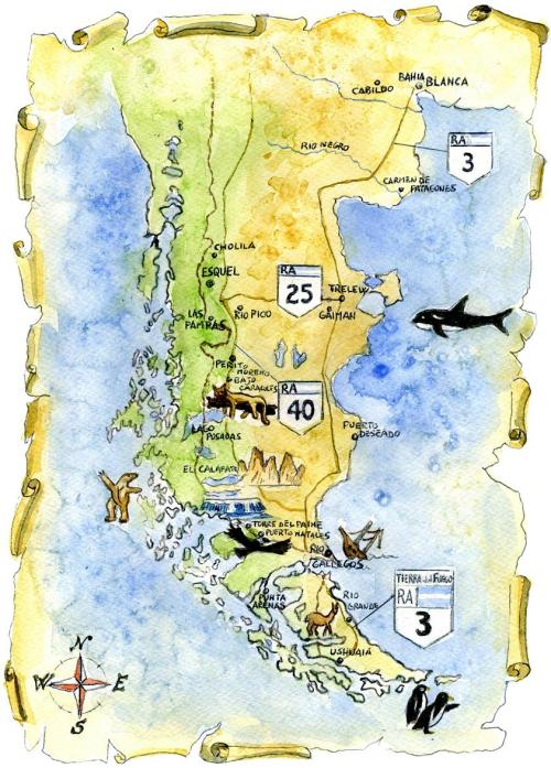 Argentina_mappa