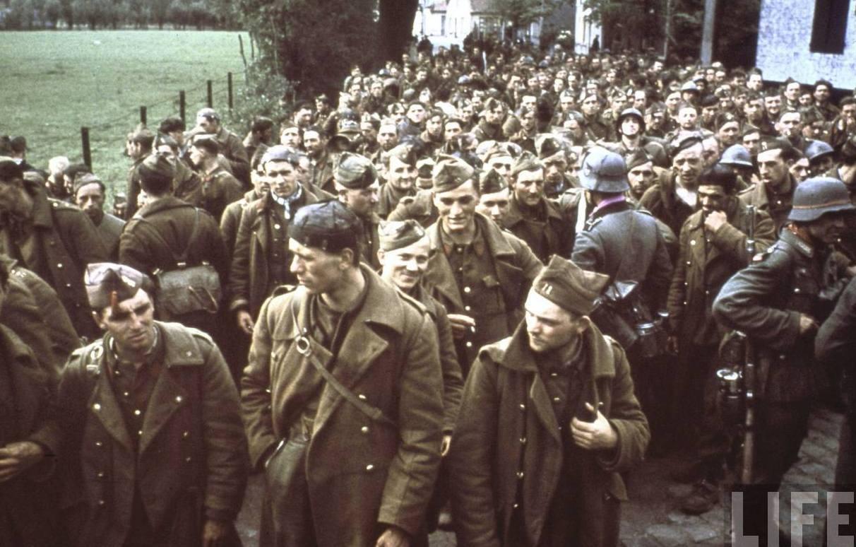 esercito belga prigioniero nazisti