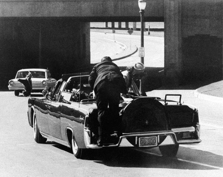 John F. Kennedy, Jacqueline Kennedy, Clint Hill