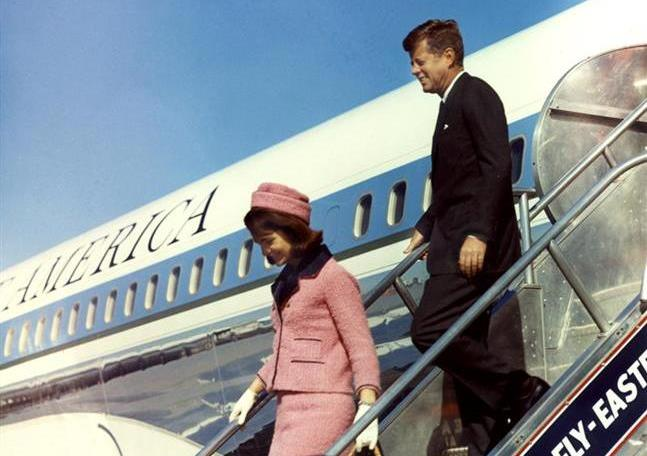 JFK And Jackie Arrive In Dallas On November 22, 1963