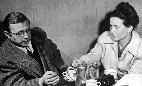 Sartre De Beauvoir Cafe de Flore