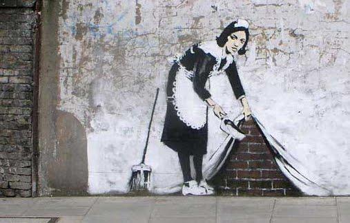 banksy. doncella jpg