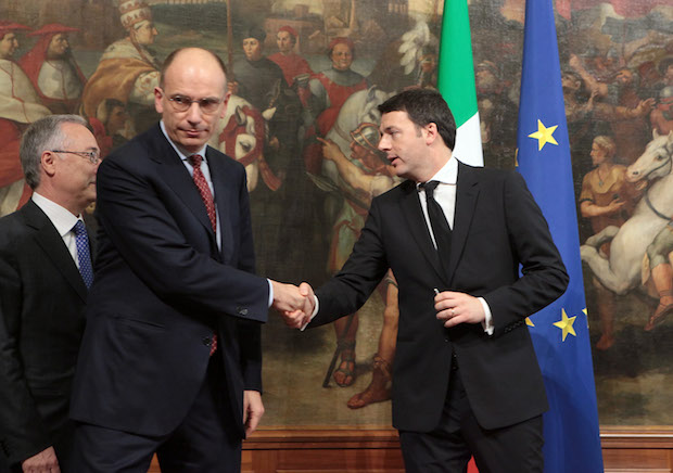 Prime Minister Designate Matteo Renzi Presents New Italian Government