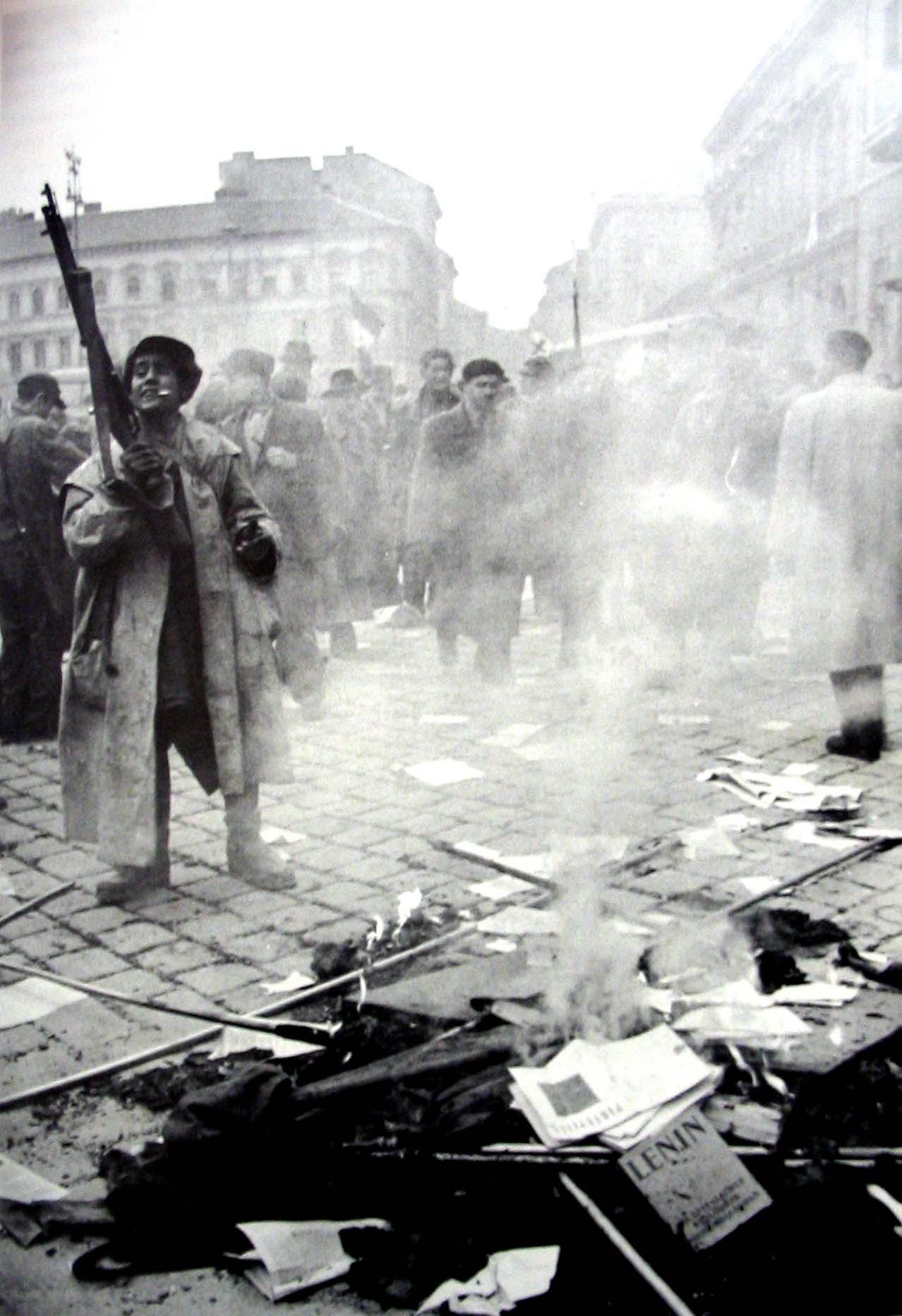 rivoluzione ungherese 1956