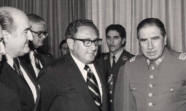Kissinger-y-Pinochet-e