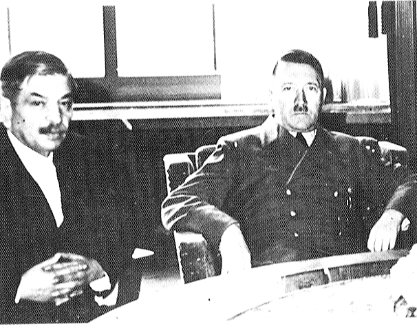 Pierre Laval con  Adolf Hitler