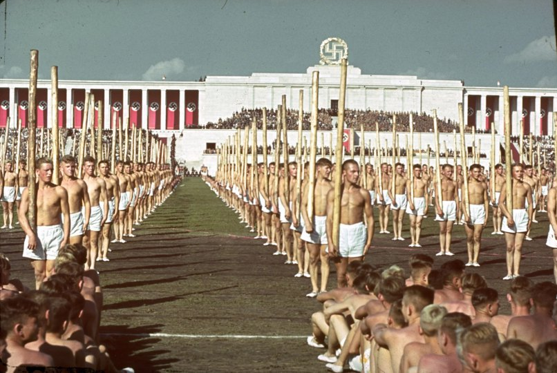 Reich Party Congress, Nuremburg, Germany, 1938.