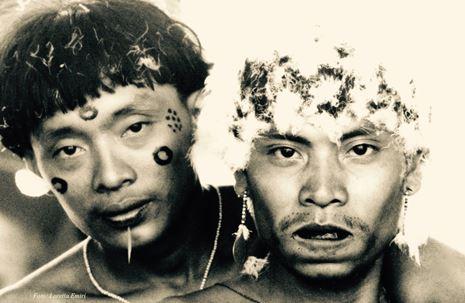 Indios yanomami-Foto Loretta Emiri